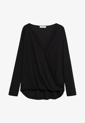 BLACK - Long sleeved top - zwart