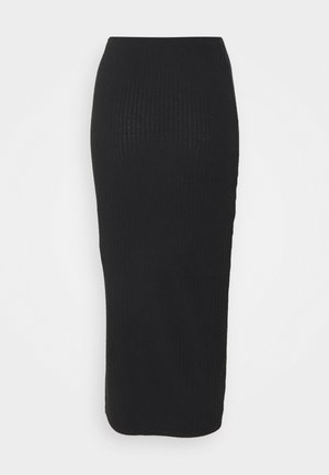 COORD MIDI SKIRT  - Pouzdrová sukně - black