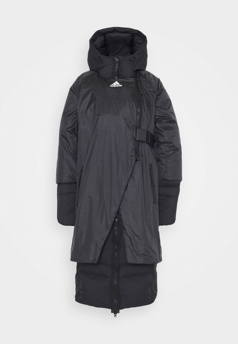 adidas Performance - URBAN COLD.RDY OUTDOOR JACKET - Dunkåpe / -frakk - black