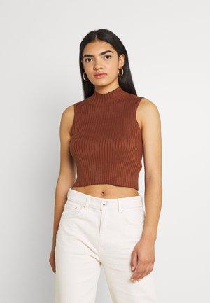 AMORA - Top - brown