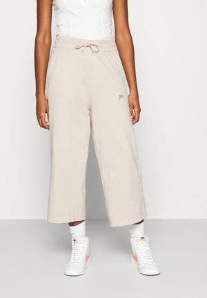 NSW CAPRI JRSY - Tracksuit bottoms - oatmeal