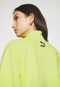 Puma - HALF ZIP CREW - Sweatshirt - sharp green - 5