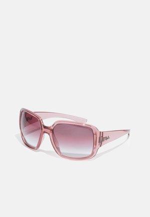 Sunglasses - transparent pink