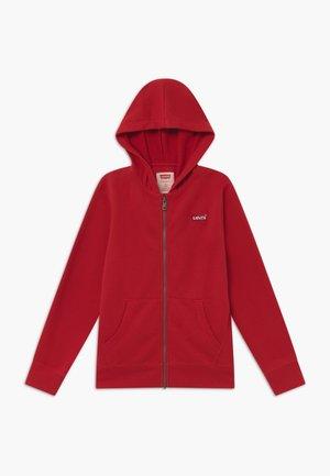 ZIP UP HOODIE - Zip-up hoodie - red