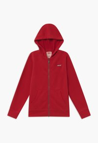 Levi's® - ZIP UP HOODIE - Felpa aperta - red - 0
