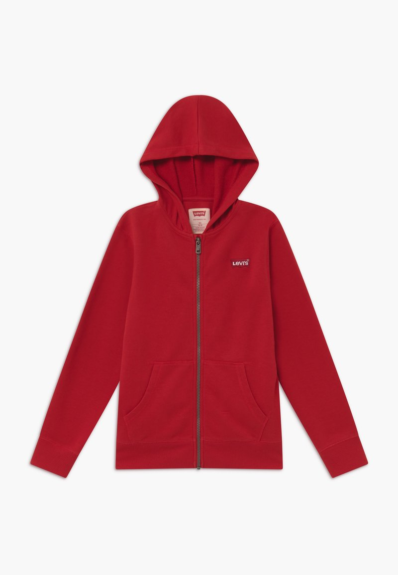 Levi's® - ZIP UP HOODIE - Felpa aperta - red