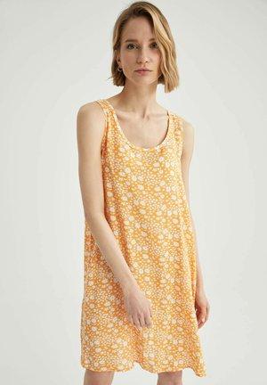 FLOWER PRINT - Sukienka letnia - yellow