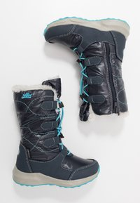 LICO - STINA - Winter boots - marine/turkis - 0