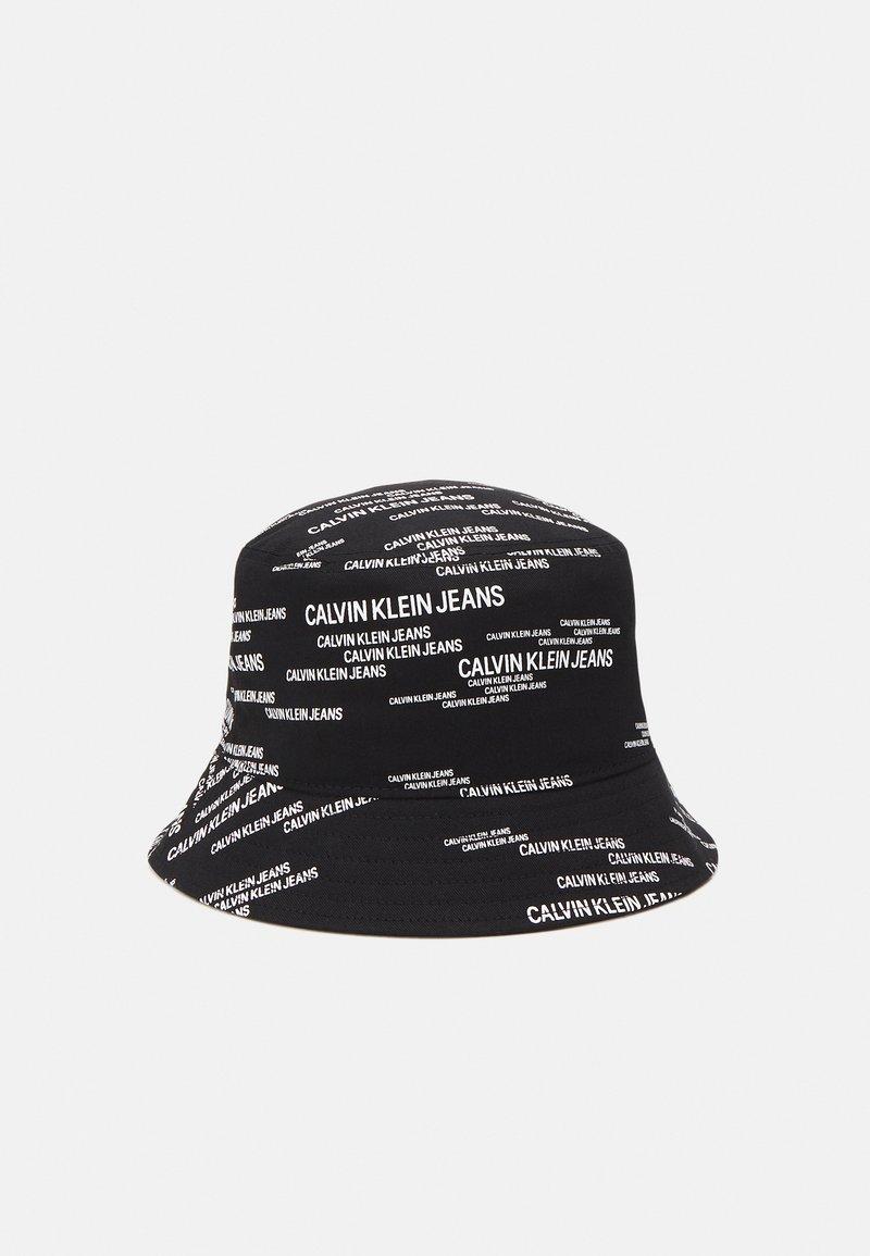 Calvin Klein Jeans - URBAN BUCKET UNISEX - Hat - black/white