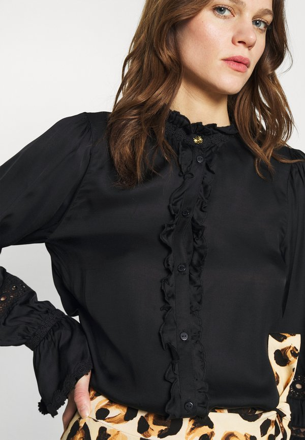 Fabienne Chapot BOHO BLOUSE - Bluzka - black/czarny FXXJ