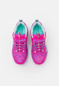Skechers - GALAXY LIGHTS - Tenisky - neon/pink/multicolor - 3