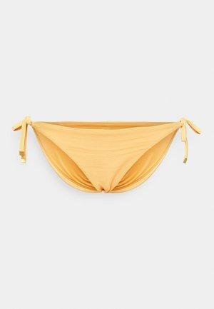 SOLIDS STRING SIDE TIE PLUS - Bikini bottoms - morning glow