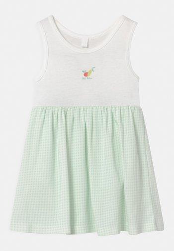 Jersey dress - marshmallow/haiti