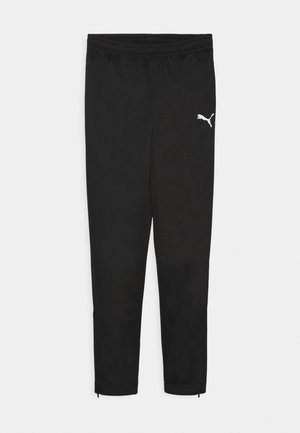 TEAMRISE POLY TRAINING UNISEX - Tracksuit bottoms - black/white