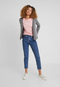 GANT - SUPERFINE - Cardigan - dark grey melange - 1