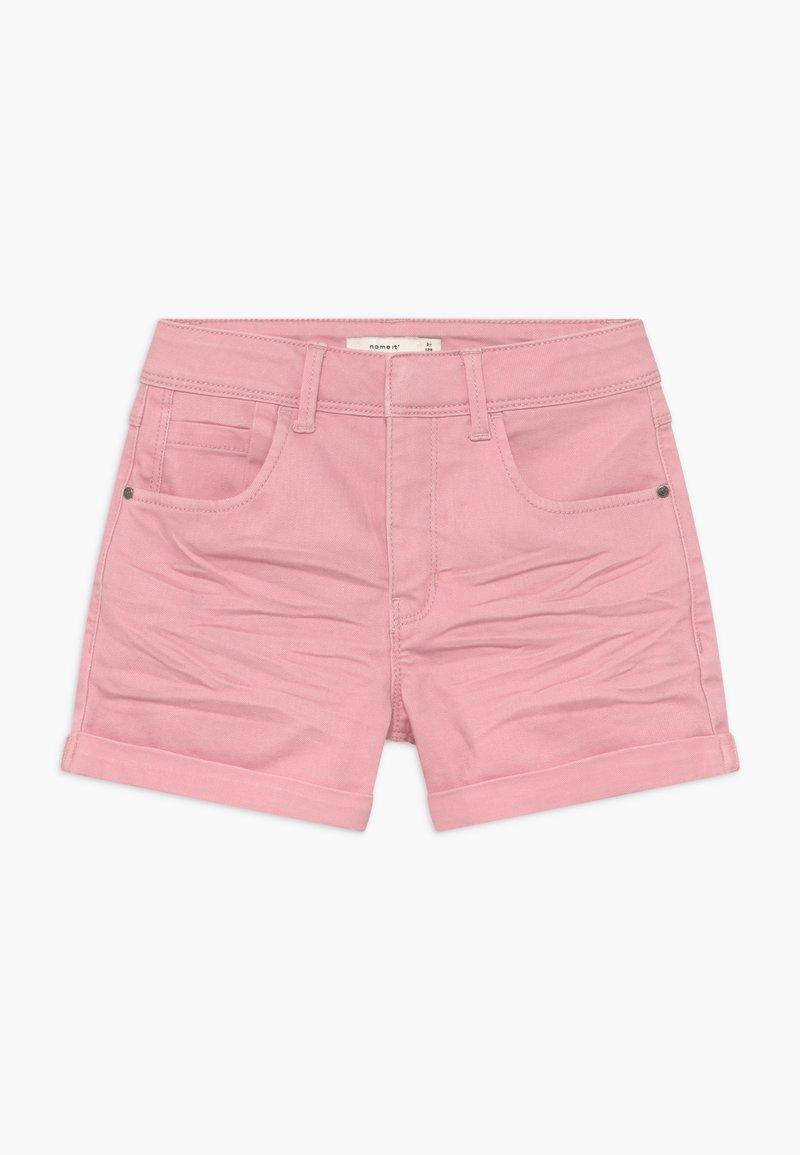 Name it - NKFROSE MOM - Short en jean - pink nectar