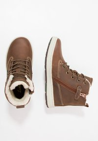 Lurchi - DOUG-TEX - Lace-up ankle boots - tan tabacco - 0