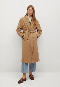 Mango - BREMEL-I - Classic coat - beige - 0