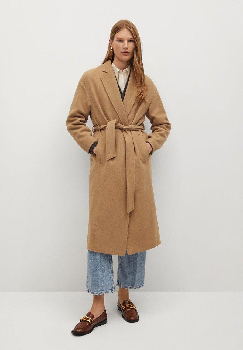 Mango - BREMEL-I - Classic coat - beige