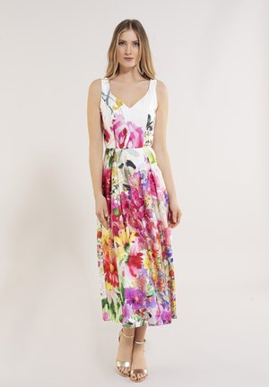 Day dress - ivory / multi