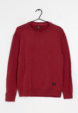 Stickad tröja - red
