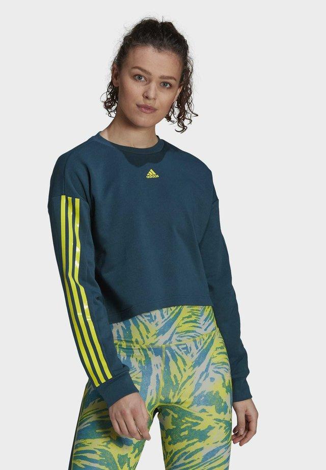 U4U AEROREADY SWEATSHIRT - Sweatshirt - teal