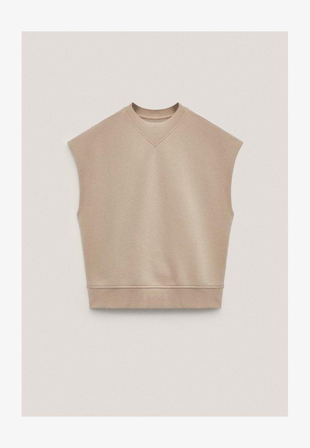 T-shirt basique - nude