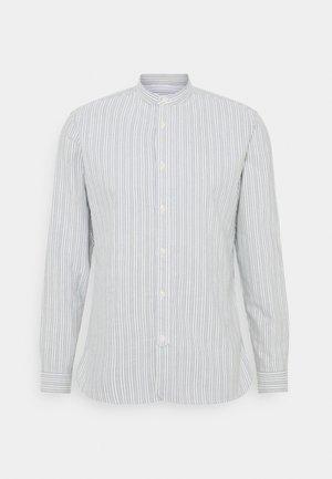 SLHSLIMMILTON STRIPES - Formal shirt - grey