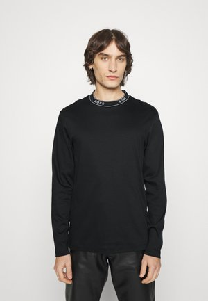TALLEY - Long sleeved top - black
