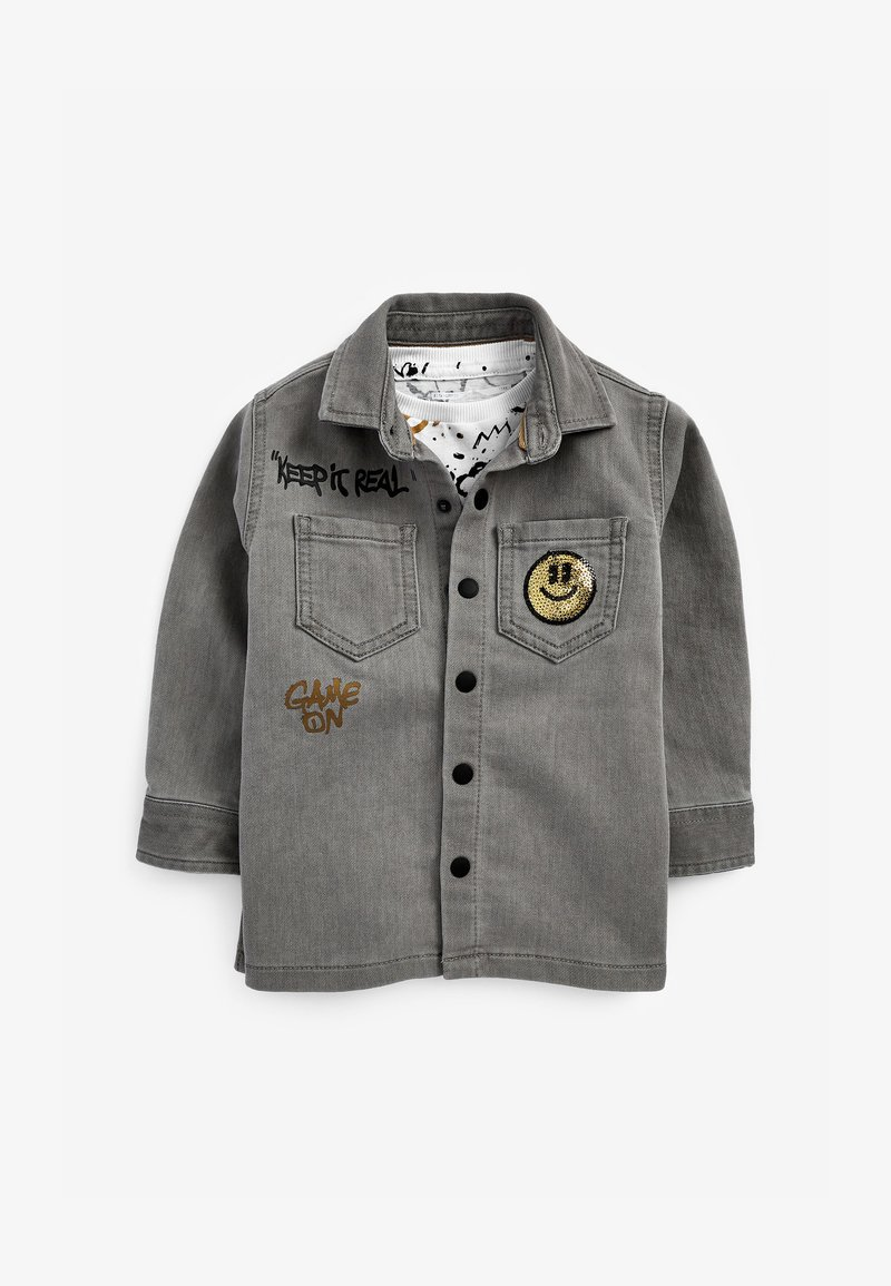Next - Shirt - grey