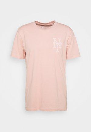 MLB NEW YORK METSREVERSE STADIUM GRAPHIC - T-shirt print - pink