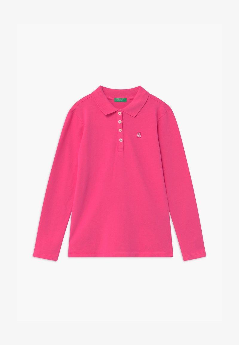 Benetton - BASIC GIRL - Polotričko - pink