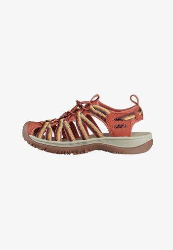 WHISPER - Walking sandals - redwood
