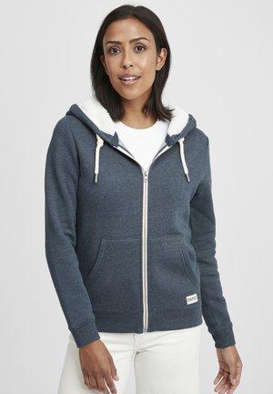 BINJA - Zip-up hoodie - insignia blue melange