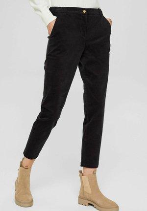 PULL-ON IM -STIL AUS - Trousers - black