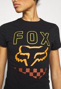 Fox Racing - RICHTER TEE  - T-Shirt print - black - 4