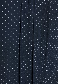 MICHAEL Michael Kors - PERFECT DOTS BOW BLOUSE - Button-down blouse - dark blue - 2