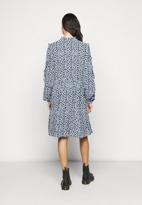 Noisy May Tall - NMMARE NEW  DRESS - Kjole - black/pastel blue - 2