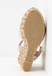 Anna Field - Korolliset sandaalit - rose - 6