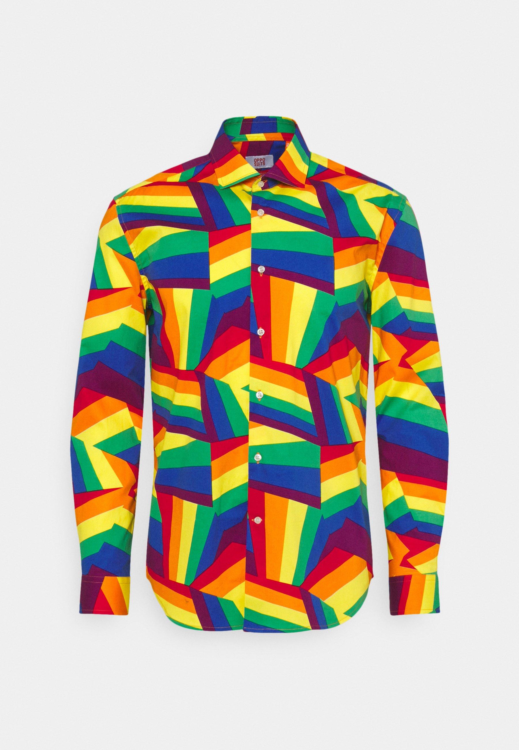 Uomo ZIG ZAG RAINBOW - Camicia