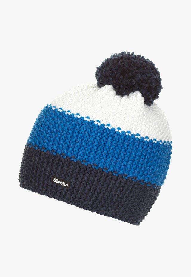 Beanie - mottled blue