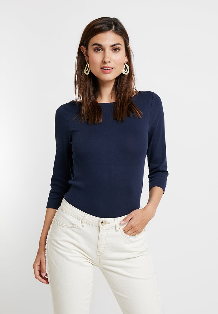 GAP - BALLET - Long sleeved top - true indigo