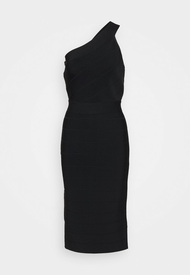 ONE SHOULDER ICONIC - Tubino - black