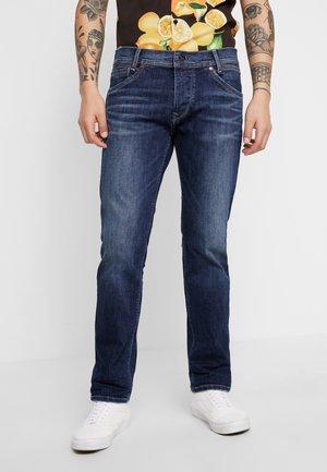 SPIKE - Straight leg jeans - dark used hydro less