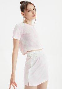 Trendyol - SET - A-line skirt - pink - 3