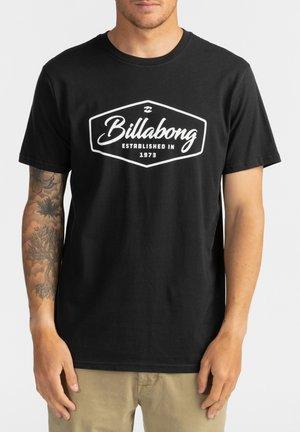 TRADEMARK - Print T-shirt - black