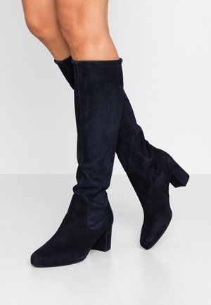 WIDE FIT BARLA - Boots - navy