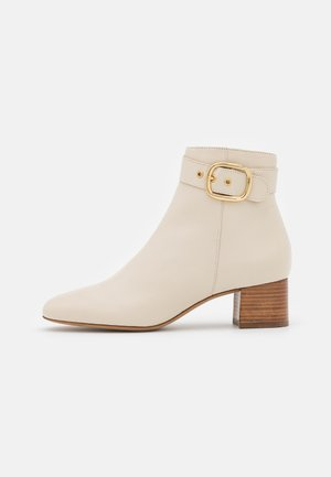 ADOLIA - Kotníkové boty - ivoire