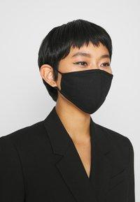 DRYKORN - FACE - Community mask - black - 1