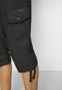 TOM TAILOR - MAX OVERKNEE - Shorts - black bean - 3